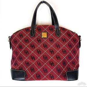 Dooney & Bourke | Large Red & Black Logo Handbag